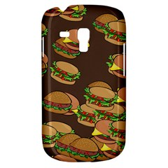 A Fun Cartoon Cheese Burger Tiling Pattern Galaxy S3 Mini by Simbadda