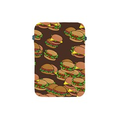 A Fun Cartoon Cheese Burger Tiling Pattern Apple Ipad Mini Protective Soft Cases by Simbadda