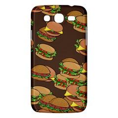 A Fun Cartoon Cheese Burger Tiling Pattern Samsung Galaxy Mega 5 8 I9152 Hardshell Case  by Simbadda