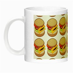 Hamburger Pattern Night Luminous Mugs by Simbadda