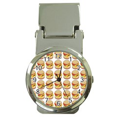 Hamburger Pattern Money Clip Watches by Simbadda