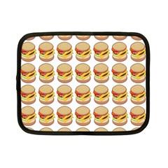 Hamburger Pattern Netbook Case (small)  by Simbadda