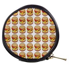 Hamburger Pattern Mini Makeup Bags by Simbadda