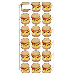 Hamburger Pattern Apple Iphone 5 Hardshell Case With Stand by Simbadda