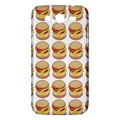 Hamburger Pattern Samsung Galaxy Mega 5 8 I9152 Hardshell Case  by Simbadda