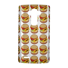 Hamburger Pattern Lg G4 Hardshell Case by Simbadda
