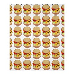 Hamburger Pattern Shower Curtain 60  X 72  (medium)  by Simbadda