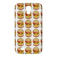 Hamburger Pattern Samsung Galaxy Mega 6 3  I9200 Hardshell Case by Simbadda