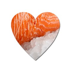 Abstract Angel Bass Beach Chef Heart Magnet by Simbadda