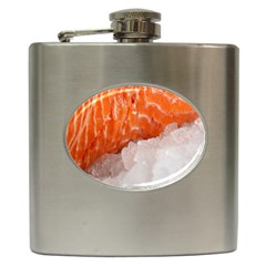 Abstract Angel Bass Beach Chef Hip Flask (6 Oz) by Simbadda