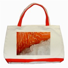 Abstract Angel Bass Beach Chef Classic Tote Bag (red) by Simbadda