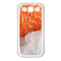 Abstract Angel Bass Beach Chef Samsung Galaxy S3 Back Case (white) by Simbadda