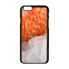 Abstract Angel Bass Beach Chef Apple Iphone 6/6s Black Enamel Case by Simbadda