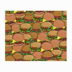 Burger Double Border Small Glasses Cloth by Simbadda