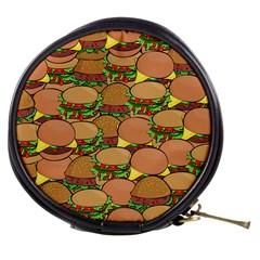 Burger Double Border Mini Makeup Bags by Simbadda
