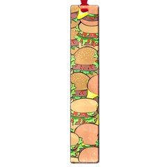 Burger Double Border Large Book Marks by Simbadda