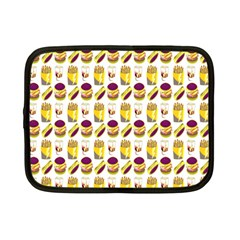 Hamburger And Fries Netbook Case (small)  by Simbadda