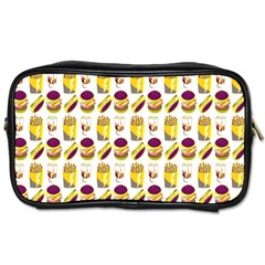 Hamburger And Fries Toiletries Bags 2 Side by Simbadda
