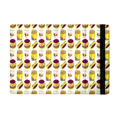 Hamburger And Fries Apple Ipad Mini Flip Case by Simbadda