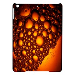Bubbles Abstract Art Gold Golden Ipad Air Hardshell Cases by Simbadda