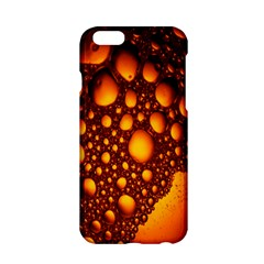 Bubbles Abstract Art Gold Golden Apple Iphone 6/6s Hardshell Case by Simbadda