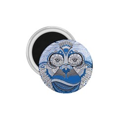 Pattern Monkey New Year S Eve 1 75  Magnets by Simbadda