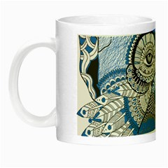 Pattern Monkey New Year S Eve Night Luminous Mugs by Simbadda
