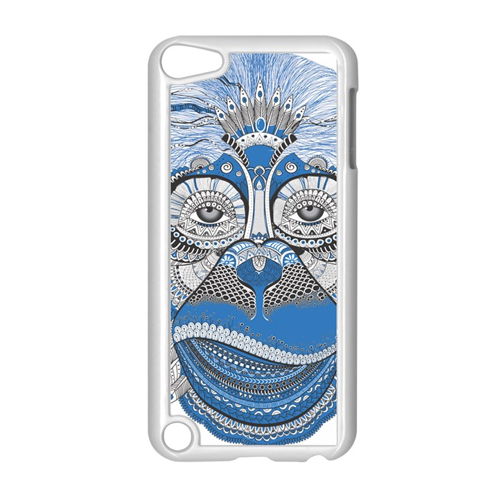Pattern Monkey New Year S Eve Apple iPod Touch 5 Case (White)