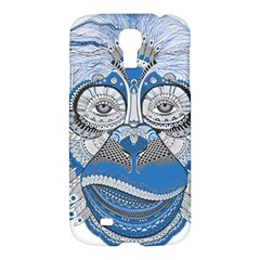 Pattern Monkey New Year S Eve Samsung Galaxy S4 I9500/i9505 Hardshell Case by Simbadda