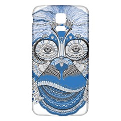 Pattern Monkey New Year S Eve Samsung Galaxy S5 Back Case (white) by Simbadda