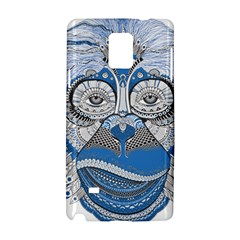 Pattern Monkey New Year S Eve Samsung Galaxy Note 4 Hardshell Case by Simbadda