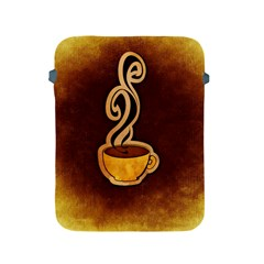 Coffee Drink Abstract Apple Ipad 2/3/4 Protective Soft Cases by Simbadda