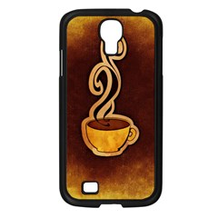 Coffee Drink Abstract Samsung Galaxy S4 I9500/ I9505 Case (black) by Simbadda