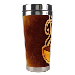 Coffee Drink Abstract Stainless Steel Travel Tumblers by Simbadda