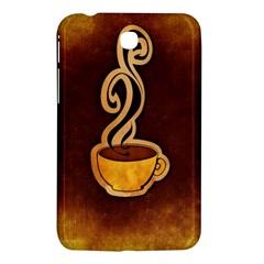 Coffee Drink Abstract Samsung Galaxy Tab 3 (7 ) P3200 Hardshell Case  by Simbadda