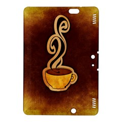 Coffee Drink Abstract Kindle Fire Hdx 8 9  Hardshell Case by Simbadda