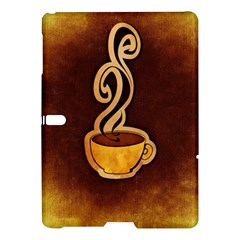 Coffee Drink Abstract Samsung Galaxy Tab S (10 5 ) Hardshell Case  by Simbadda
