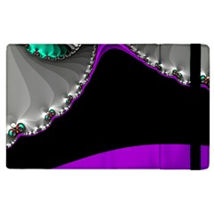Fractal Background For Scrapbooking Or Other Apple iPad 2 Flip Case