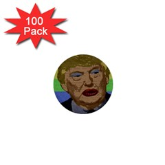 Donald Trump 1  Mini Buttons (100 Pack)  by Valentinaart