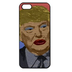 Donald Trump Apple Iphone 5 Seamless Case (black) by Valentinaart