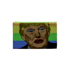 Donald Trump Cosmetic Bag (xs) by Valentinaart