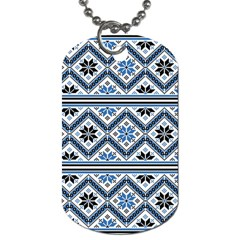 Folklore Dog Tag (two Sides) by Valentinaart