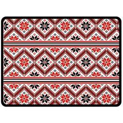 Folklore Double Sided Fleece Blanket (large)  by Valentinaart