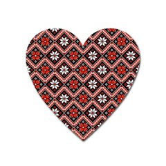 Folklore Heart Magnet by Valentinaart