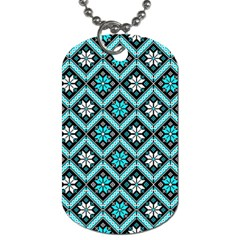 Folklore Dog Tag (one Side) by Valentinaart