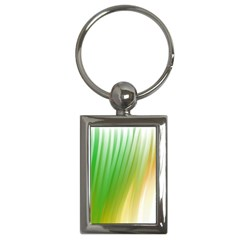 Folded Digitally Painted Abstract Paint Background Texture Key Chains (rectangle)  by Simbadda
