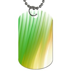 Folded Digitally Painted Abstract Paint Background Texture Dog Tag (one Side) by Simbadda
