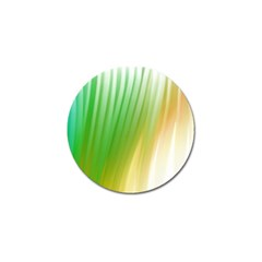 Folded Digitally Painted Abstract Paint Background Texture Golf Ball Marker (4 Pack) by Simbadda