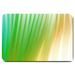Folded Digitally Painted Abstract Paint Background Texture Large Doormat  by Simbadda