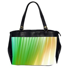 Folded Digitally Painted Abstract Paint Background Texture Office Handbags (2 Sides)  by Simbadda